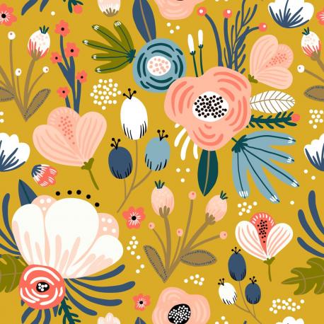 tissu-coton-gots-flower-power-brianna