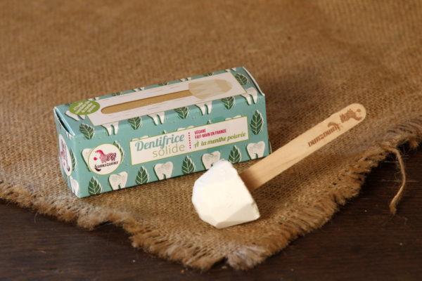 dentifrice solide lamazuna menthe poivrée