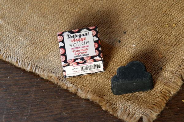 Nettoyant visage peaux mixtes à grasses Lamazuna vendu par aux retrouvailles