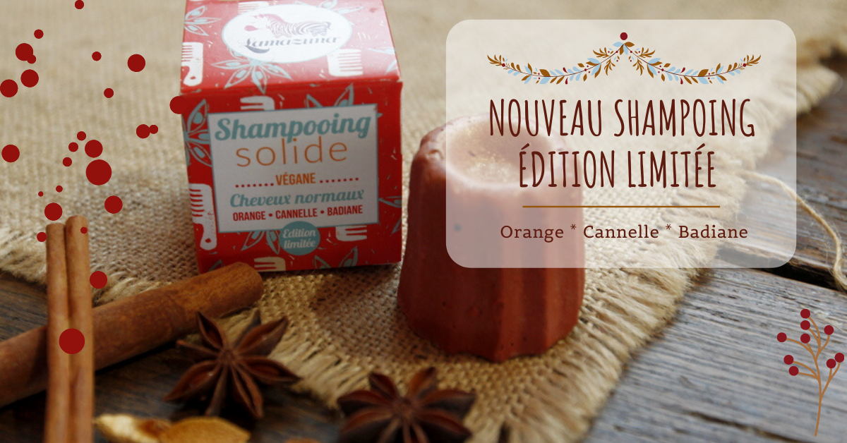 Shampoing orange cannelle badiane lamazuna