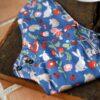 serviette hygiénique lavable Plus avec des motifs d'animaux de la forêt de la marque plim vendu par aux retrouvailles.com