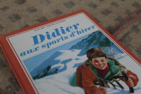 livre vintage didier aux sports d'hiver 1966 aux retrouvailles