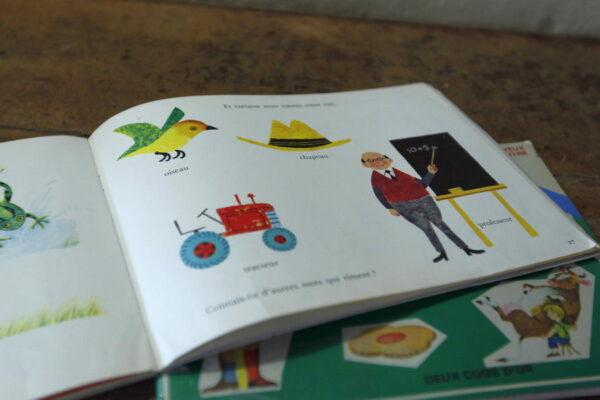 Livre pour enfant je veux connaitre aux retrouvailles vintage