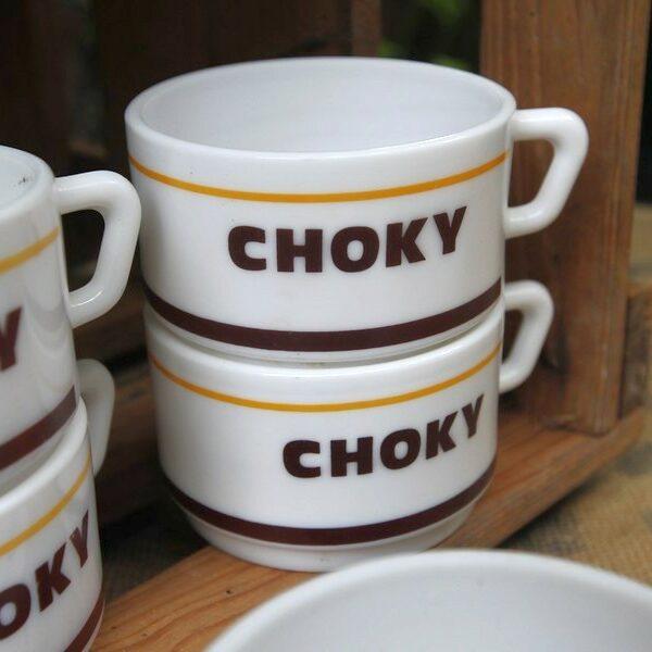 Tasse choky aux retrouvailles vintage