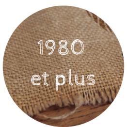 1980 et plus