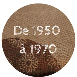De 1950 à 1970