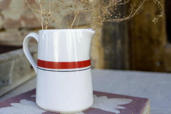 pichet porcelaine pullivuyt aux retrouvailles vintage made in france 3