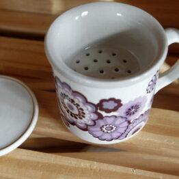 tasse flower violet 3 aux retrouvailles
